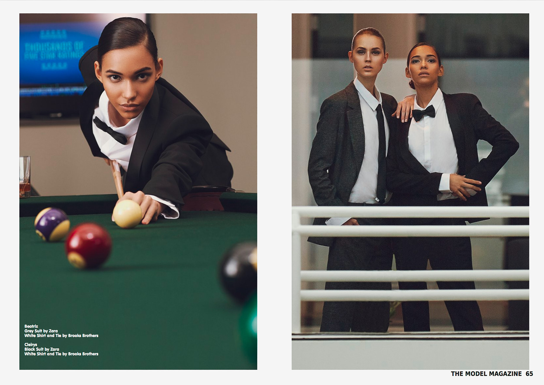 Marilyn Agency NYC - Beatriz and Cleirys